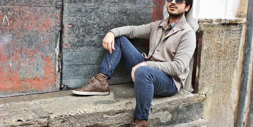 Pánské jeansy z Číny