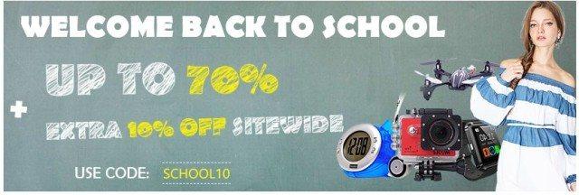 DinoDirect back to school slevy