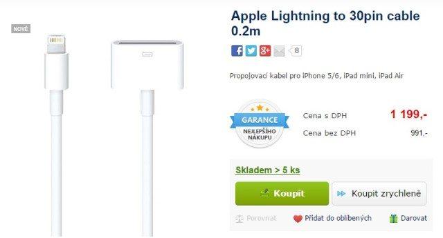 Apple originální drahý kabel