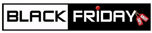 Černý pátek 2017 - black friday