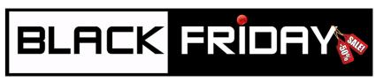 Černý pátek - black friday