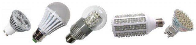 LED žárovky z Číny