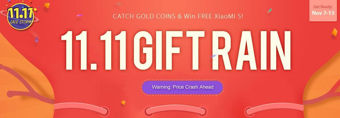 Gift rain GearBest