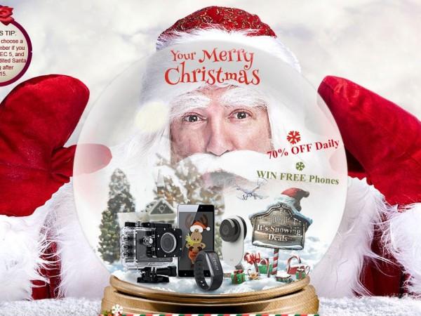 Vánoční dárky na GearBest