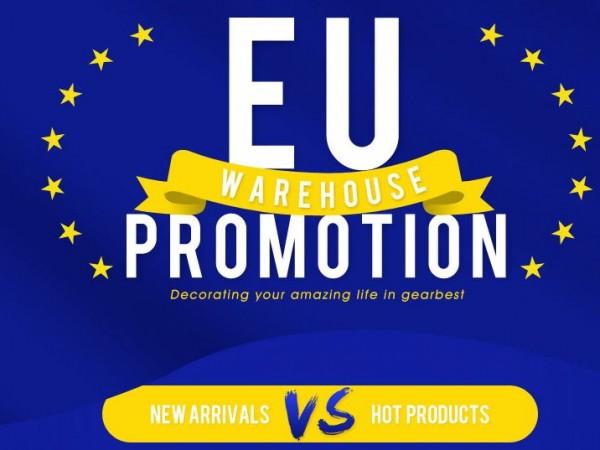 Výprodej EU skladů, slevy 50% na elektroniku z GearBest