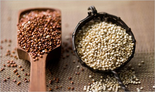 Quinoa z Číny