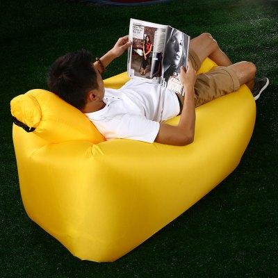 Ultralehká nafukovací pohovka s polštářem Beach Chair pro volnočasové aktivity