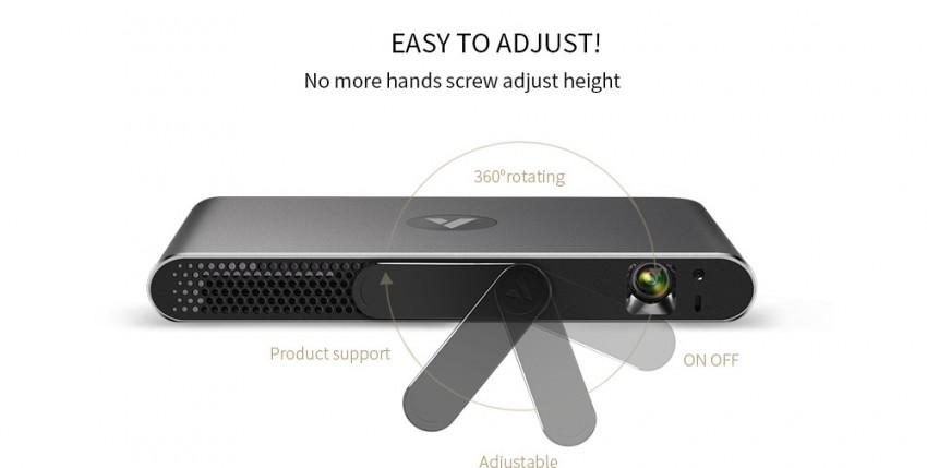 Potřebujete nový projektor? Zkuste APPotronics A1 Laser Projector 600 ANSI Lumens!
