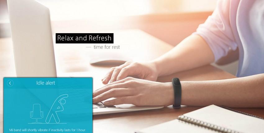 Hledáte parťáka na sport i do práce? Zkuste chytré hodinky Original Xiaomi Mi Band 2 Smart Watch for Android