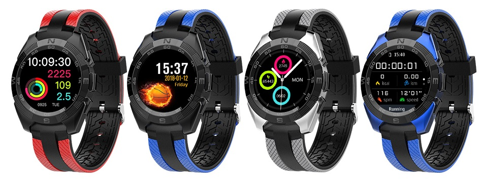 Microwear L3 – chytré hodinky, tenké jako hedvábí